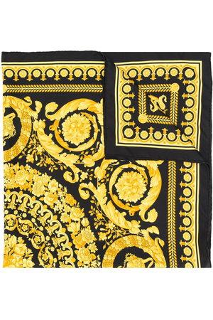 VERSACE Scarves - Baroque print scarf
