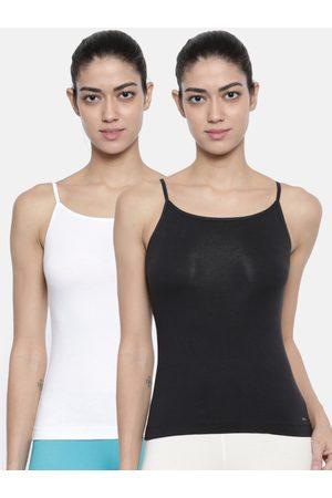 Bitz Women Pack of 2 Solid Camisoles ESC001