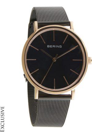 Bering Unisex Black Classic Sapphire Crystal Analogue Watch 13436-166