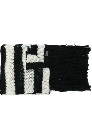 Saint Laurent Men Scarves - Striped scarf