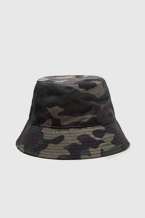 Zara CAMOUFLAGE BUCKET HAT