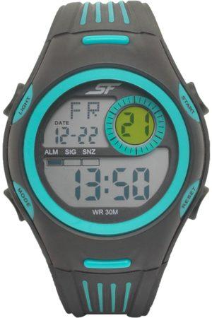 Sonata Men Black Digital Watch 77072PP02