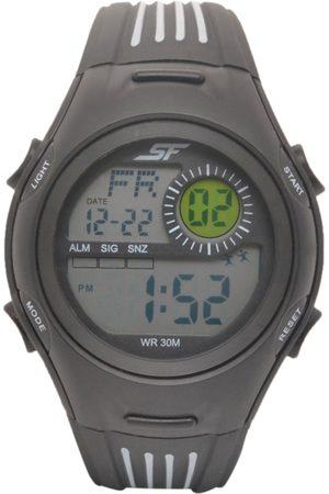 Sonata Men Black Digital Watch 77072PP04