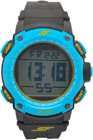 Sonata Men Blue Digital Watch 77073PP04