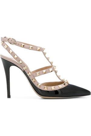 VALENTINO Garavani Rockstud ankle strap pumps