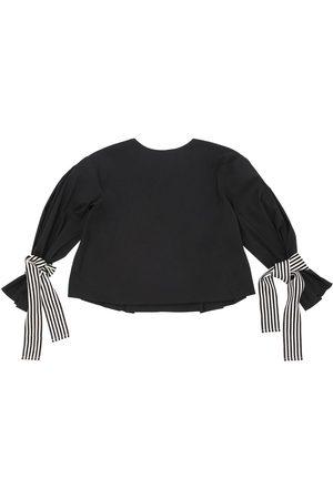 Unlabel Cotton Poplin Shirt W/ Striped Ties