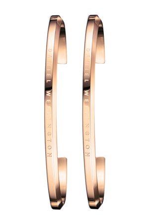 Daniel Wellington Men Set of 2 Stainless Steel -Plated Cuff Bracelets