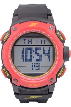 Sonata Men Pink Digital Watch 77073PP01