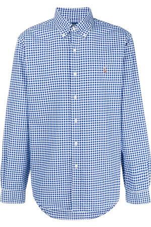Polo Ralph Lauren Check-print long-sleeved shirt
