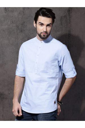 Roadster Men Regular Fit Solid Casual Shirt