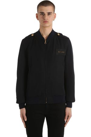 Kent & Curwen Military Wool Bomber Jacket