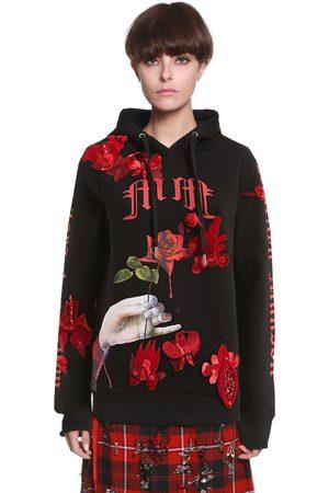 DILARA FINDIKOGLU Men Sweatshirts - Manson's Bride Hooded Cotton Sweatshirt