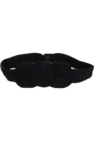 Diwaah Women Black Braided Belt