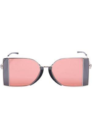 12d7ae1783 Calvin Klein Squared See-thru Lens Sunglasses .
