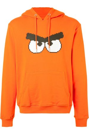 MOSTLY HEARD RARELY SEEN Angry print hoodie