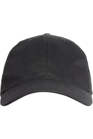 Blueberry Men Black Solid Baseball Cap