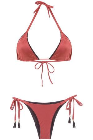 Brigitte Triangle top bikini set