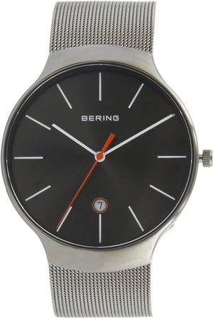 Bering Unisex Grey Classic Sapphire Crystal Analogue Watch 13338-077