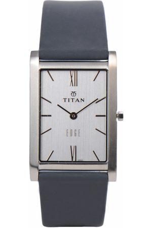 Titan Edge Men White Dial Watch NH1043SL01A
