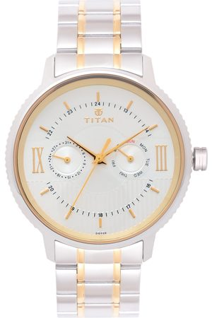 Titan Men -Toned Analogue Watch 1743BM01