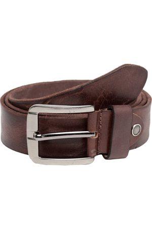 Teakwood Leathers Men Leather Textured Belt