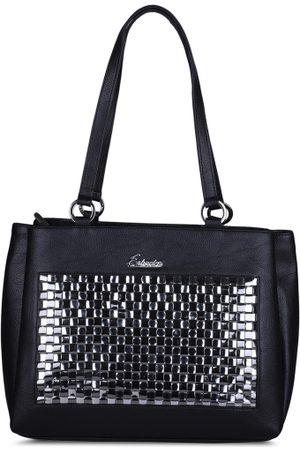 ESBEDA Black Solid Shoulder Bag