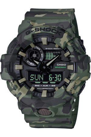 Casio G-Shock Men Black Analogue and Digital watch G824 GA-700CM-3ADR