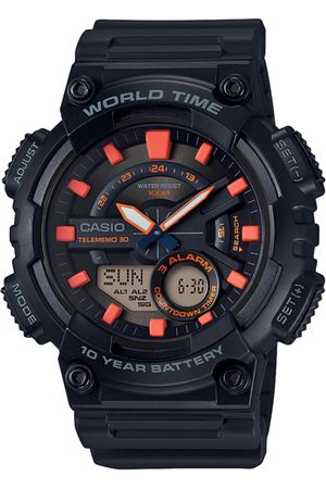 Casio Youth Combination Men Black Analogue and Digital watch AD221 AEQ-110W-1A2VDF