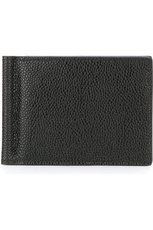 Thom Browne Men Wallets - Money Clip Wallet In Pebble Grain
