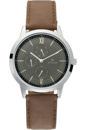 Titan Men Grey Analogue Watch