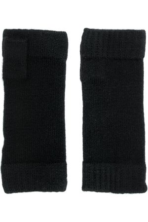 N.PEAL Men Gloves - Finger-less knitted gloves