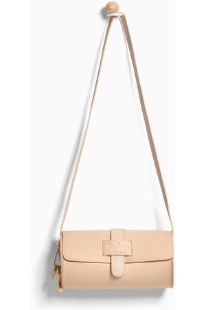 Zara NATURAL MINI BOWLING BAG