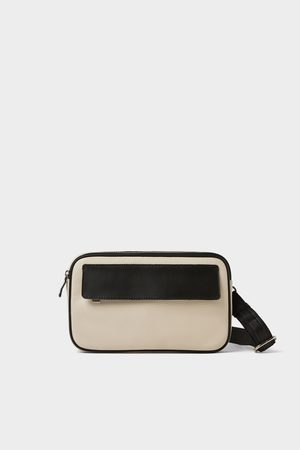 Zara CREAM BELT BAG