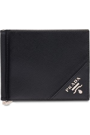 Prada Logo plaque wallet