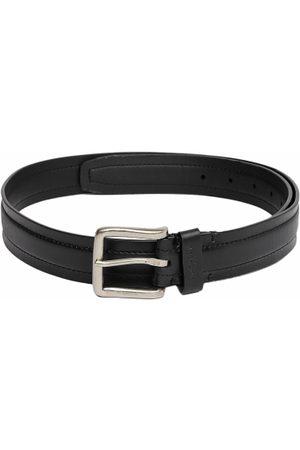 Ralph Lauren Men Black Solid Leather Belt
