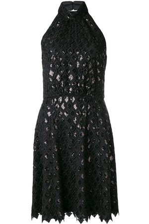 Emporio Armani Diamond macramé dress