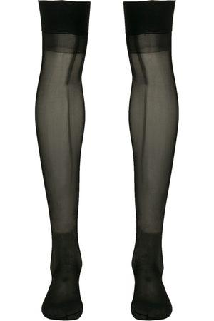 c7c1b048a82 MAISON CLOSE Knee-length sheer stockings