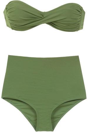 AMIR SLAMA Plain bikini set