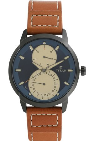 Titan Gents Purple Men Blue Analogue watch NL1756NL01