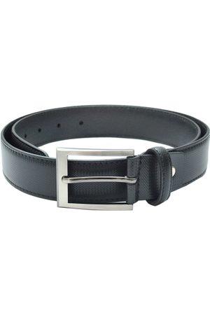 Pacific Men Black Leather Belt