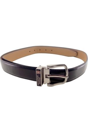 Swiss Military Men Solid Leather Belt