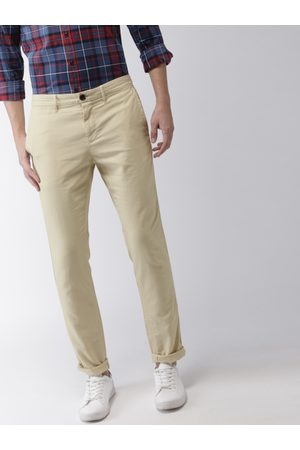 Tommy Hilfiger Men Straight Fit Solid Chinos