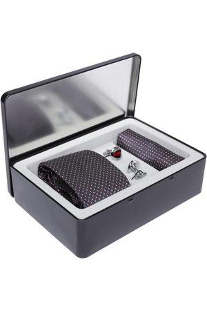 Lino Perros Men Grey Accessory Gift Set