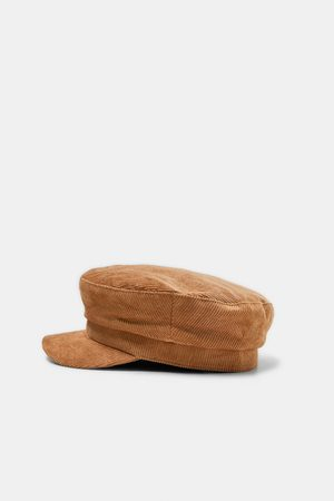 Zara CORDUROY NAUTICAL CAP
