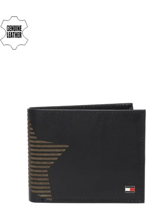 adidas Men Navy Blue Solid Genuine Leather Two Fold Wallet