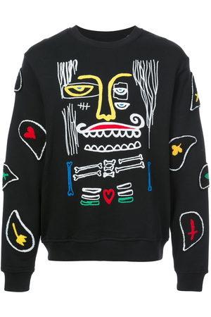 HACULLA Monster paisley patch sweatshirt