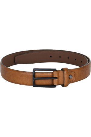 Alvaro Castagnino Men Tan Brown Solid Belt