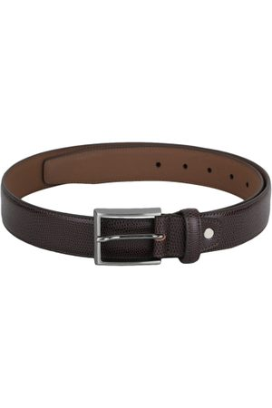 adidas Men Brown Textured Belt