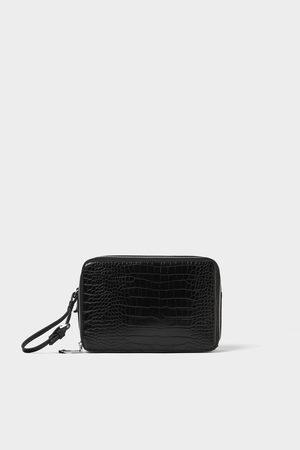 Zara DOUBLE ZIP TOILETRY BAG