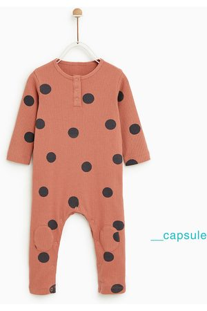 Zara Baby Sleepsuits - POLKA DOT SLEEPSUIT